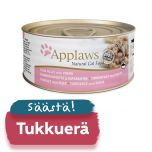 Applaws kissa tonnikalafile & katkarapu 70g - 24 purkkia