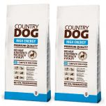 Country Dog Premium High Energy 2 x 15 kg