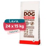 Lava Country Dog Premium Maintenance, 24 x 15 kg