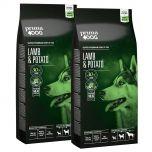 PrimaDog Adult All Breeds Lammas-peruna 2 x 10 kg