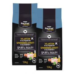 Racinel Black Label Sport & Agility 2 x 12kg
