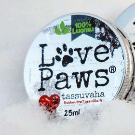LovePaws Luomutassuvaha, 25 ml, Kokeilupakkaus