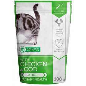 100 g Nature's Protection Cat Urinary Health, säilykepussi