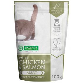 100 g Nature's Protection Cat Weight Control, säilykepussi