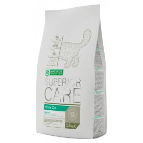 1,5 kg Nature's Protection Superior Care White Cat - valkoiselle kissalle
