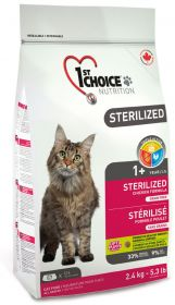 1st Choice Cat Adult Sterilized 2,4 kg