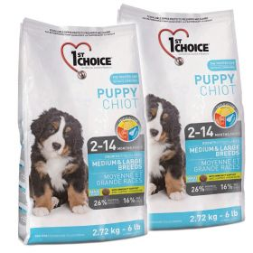 1ST CHOICE PUPPY MEDIUM & LARGE 2 x 15 KG