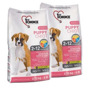 1ST CHOICE PUPPY SKIN & COAT 2 x 14 KG