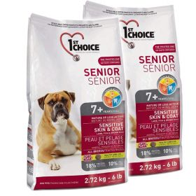 1ST CHOICE SENIOR SKIN & COAT 2 x 12 KG