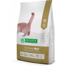 Nature's Protection Cat Adult Sterilised Siipikarja