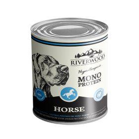 400 g Riverwood Mono Protein Hevonen, säilyke