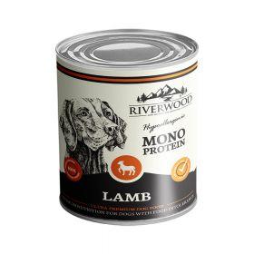 400 g Riverwood Mono Protein Lammas, säilyke