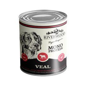 400 g Riverwood Mono Protein Vasikka, säilyke