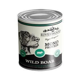 400 g Riverwood Mono Protein Villisika, säilyke