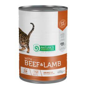 400 g Nature's Protection Cat Ad Nauta&lammas, säilyke