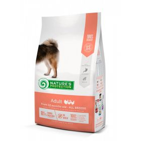 4 kg Nature's Protection Dog Adult All Breeds Siipikarja