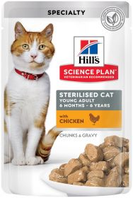 HILL'S SP Young Adult Sterilised, Chicken 12 x 85 g