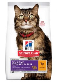 HILL'S SP Adult Sensitive Stomach & Skin, Chicken 7kg