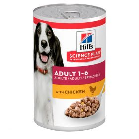 HILL'S SP Adult Medium Chicken 12 x 370g Canine