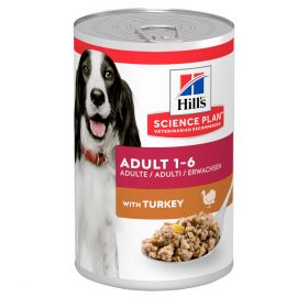 HILL'S SP Adult Medium Turkey 12 x 370 g Canine