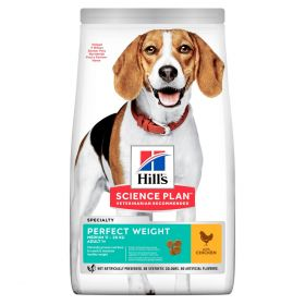 HILL'S SP Adult Perfect Weight Medium Chicken 12kg
