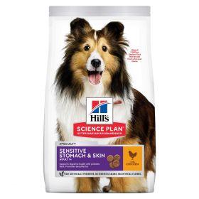 HILL'S SP Adult Sensitive Skin Medium Chicken 14kg