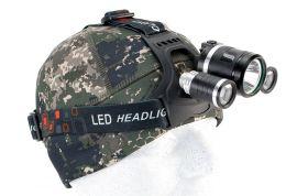 Otsalamppu 3 X Cree LED