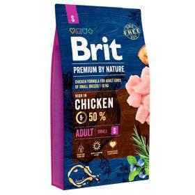 8 kg Brit Premium by Nature Adult S, 1-10 kg aikuiset