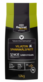 Racinel Black Label Senior chicken 12 kg