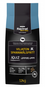 Racinel Black Label Adult lamb 12 kg