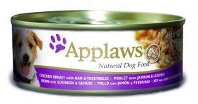 Applaws koira kana, kinkku & vihannes 156g - 12 kpl