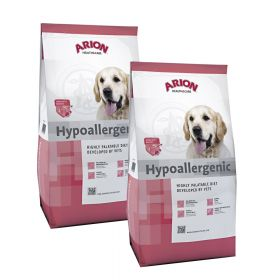 Arion Health & Care Hypoallergenic 2 x 12kg, allergia