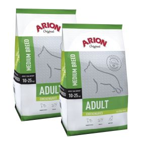 Arion Original Adult Medium Kana & Riisi 2 x 12 kg