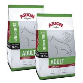 Arion Original Adult Medium Lammas & Riisi 2 x 12 kg