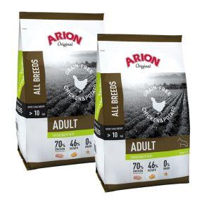 Arion Original Viljaton Kana & Peruna 2 x 12 kg