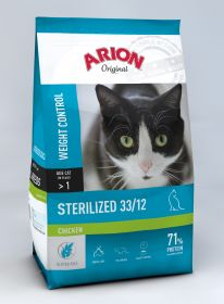 Arion ORIGINAL Kissa Adult STERILIZED Kana 2 x 2 kg