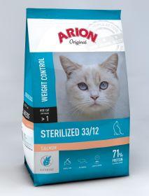 Arion ORIGINAL Kissa Adult STERILIZED Lohi 2 x 2 kg