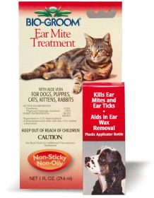 Bio-Groom Ear Mite Treatment Korvapunkkeihin, 30 ml