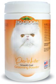 Bio-Groom Talkki Pro White, pehmeälle turkille, 170 g