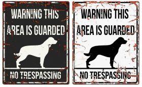 D&D varoituskyltti Warning, Neliskanttinen - Eri rotuja / värejä