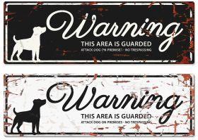 D&D varoituskyltti Warning, Suorakaide