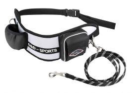 D&D Sports -talutusvyö pienille ja keskikokoisille koirille, 110 cm, mustavalkoinen