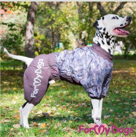 ForMyDogs - Charming camo talvihaalari, keskikokoinen/iso koira, uroksen malli
