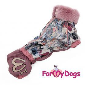 ForMyDogs - Fairy queen, nartun malli, mäyräkoiran talvihaalari - Eri kokoja