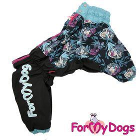 ForMyDogs - Hiding tiger talvihaalari, uroksen malli, rintava koira - Eri kokoja