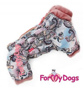 ForMyDogs - Pink dream, nartun malli, talvihaalari - Eri kokoja