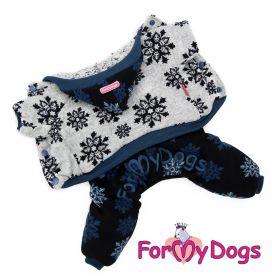 ForMyDogs - Snowflakes pehmohaalari, unisex - Eri kokoja