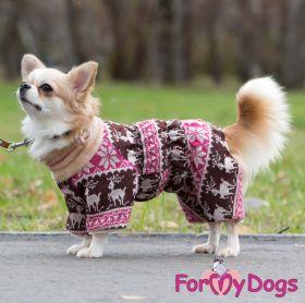 ForMyDogs - Winter in Lapland, nartun malli, talvihaalari - Eri kokoja