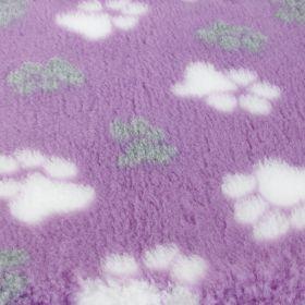 Foxy Fur -makuualusta Lila tassu - Eri kokoja