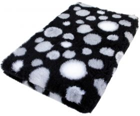 Foxy Fur -makuualusta Musta kupla - Eri kokoja